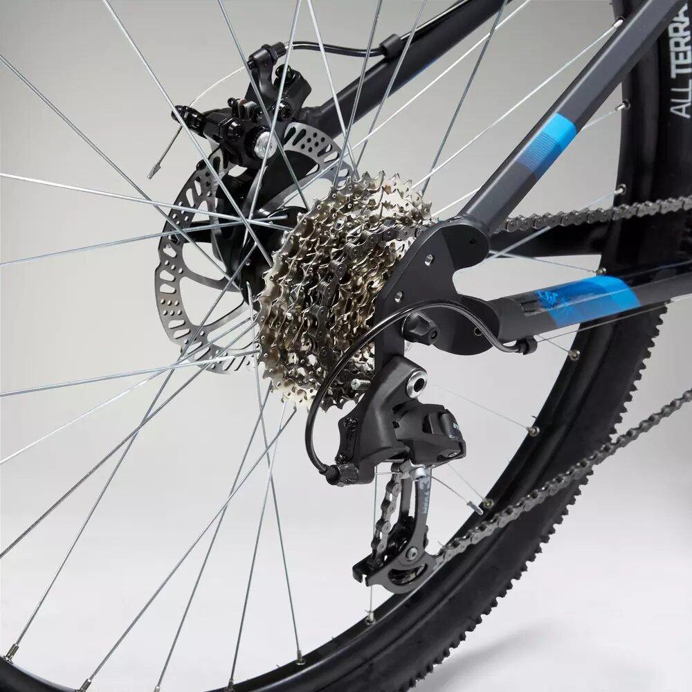 Mountainbike ST 120 Kettenblatt hinten