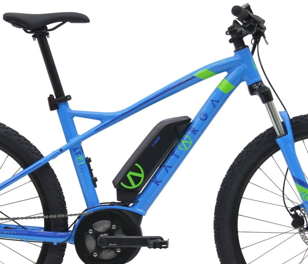 Der Akku vom E-Bike