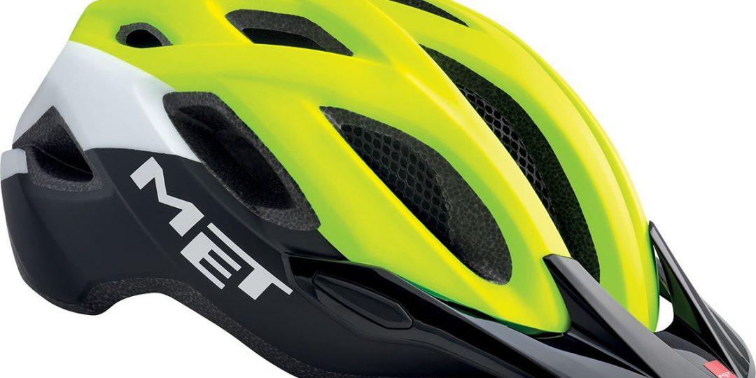 MET Crossover Fahrrad Helm