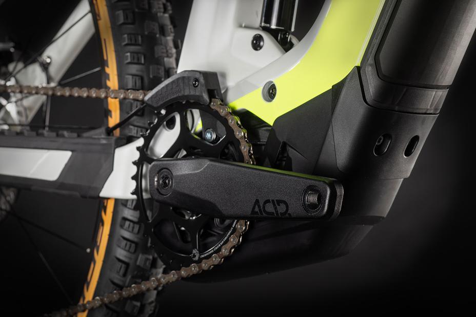 Voll integrierter Motor und Akku im Cube E-Bike